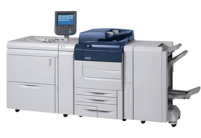 Цифровая печать на Xerox Versant 180 press