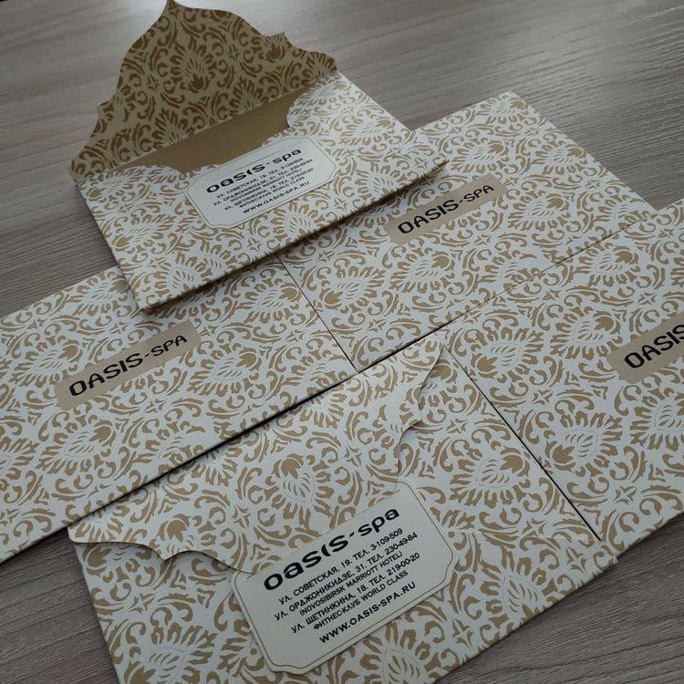 Изготовление конвертов в типографии Allprint