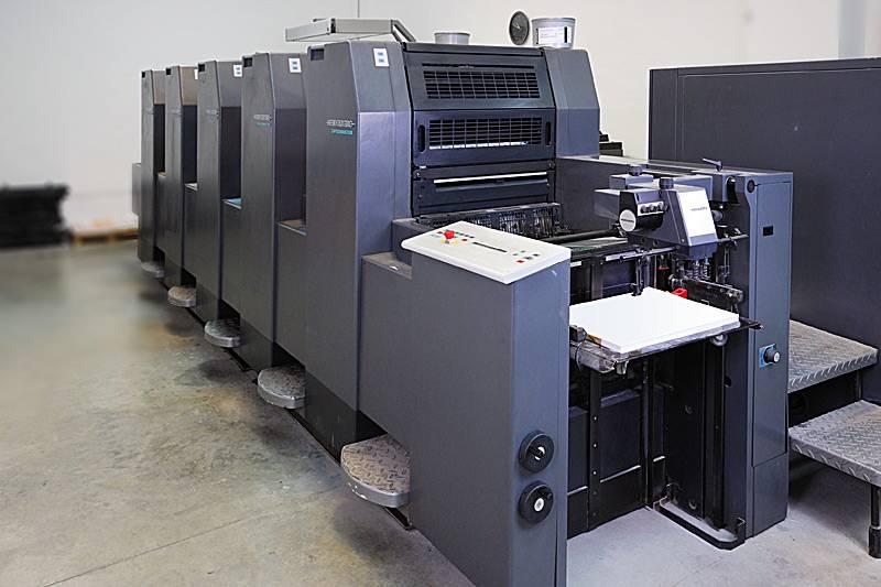 Офсетная печать на Heidelberg-Speedmaster-SM-52