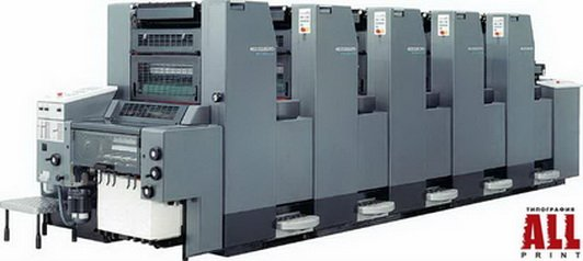Мы печатаем тиражи на Heidelberg-Speedmaster